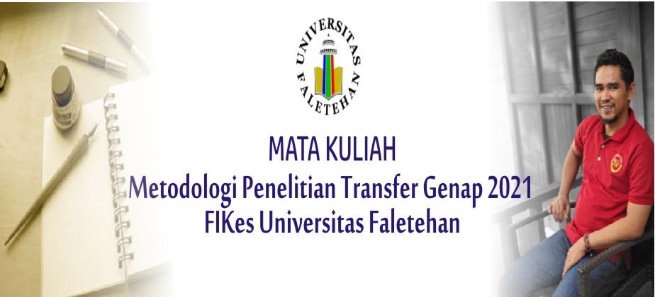 PSIK Transfer Metodologi Penelitian